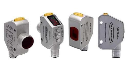 新发布的Q4X高性能激光测量传感器长距离型号,检测范围达到600mm(齐平式610