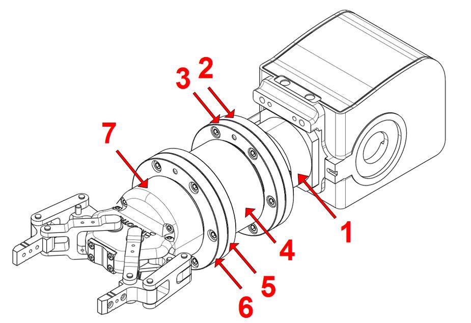 六分量力传感器K6D80在工业机器人中的应用可以提高工业自动化的可靠性和灵活性。