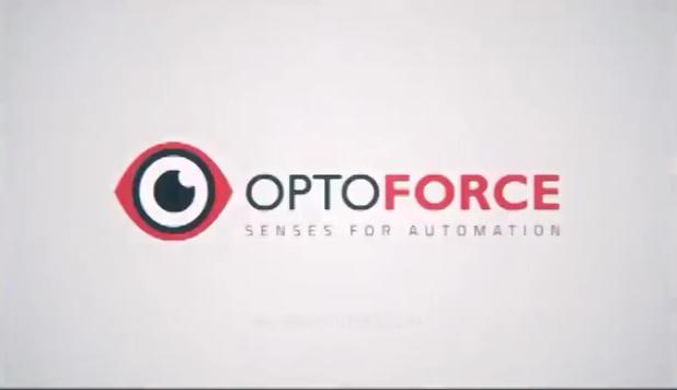 OptoForce力矩传感器展示自适应轮廓控制