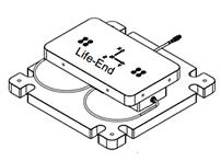 三分量测力平台,两个三分量传感器组成,精度:0.1%,量程:200kN