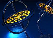 陀螺仪,是一种用来感测与维持方向的装置,基於角动量不灭的理论设计出来的。陀螺仪主要是由一个位於轴心可以旋转的