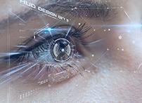虹膜是眼睛外部调节瞳孔大小、控制进入眼睛光线数量的肌肉,它是基于褪黑素的数量形成的眼睛的有色部分。