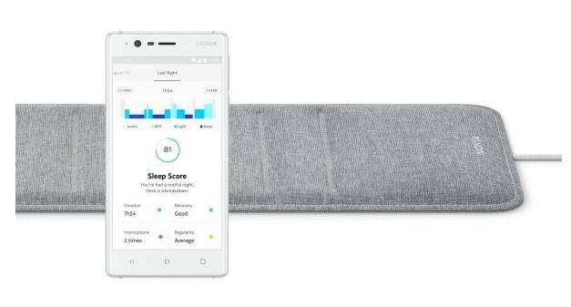 """近日,据外媒报道,诺基亚健康产品的一项新发明,这款产品来自一家芬兰公司,名为""""诺基亚睡眠"""",也被称为床垫中的""""高级传感器""""。"""