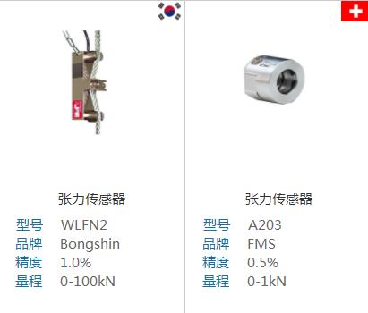 张力传感器也叫张力检测器,是张力控制过程中,用于测量卷材张力值大小的仪器。