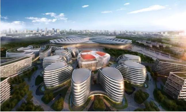 """建设""""智慧虹桥"""",服务进口博览会,上海市第五个""""新型城域物联专网""""示范区近日在虹桥商务区启动。"""
