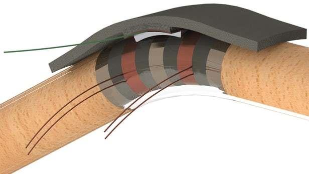 据报道,来自加拿大滑铁卢大学的科学家团队,开发出了一种基于小型柔性圆柱体、利用电磁和摩擦力来驱动的新型传感器原型。