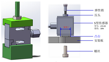 S型称重传感器是传感器中最为常见的一种传感器,主要用于测固体间的拉力和压力,通用也人们也称之为拉压力传感器,因为它的外形像S形状,所以习惯上也称S型称重传感器