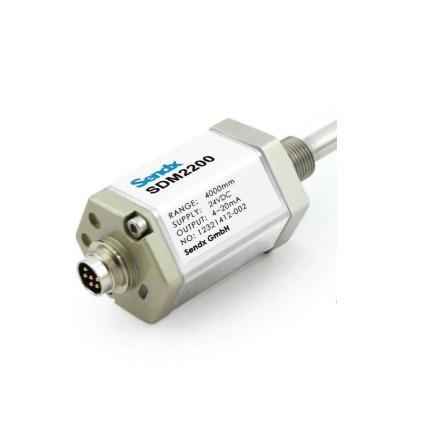 国内外液压轧机自动厚度控制系统(AGC),其液压油缸位置检测通常采用的磁致伸缩传感器有线性差动变压器位移传感器(LVDT),磁尺。随着磁致伸缩传感器设计制造越来越成熟,