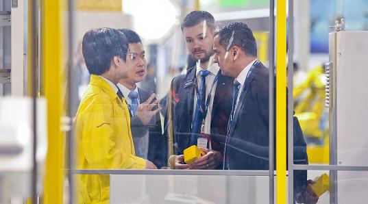 2020年中国(上海)国际智能工厂展暨工业自动化机器人展